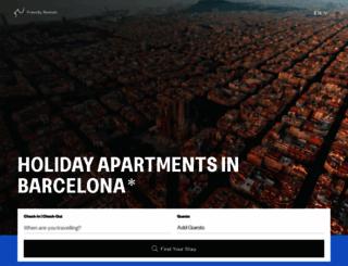 friendlyrentals.com screenshot