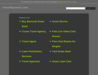 friendlyseed.com screenshot