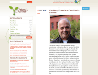friendofthefarmer.com screenshot