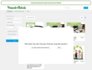 friends-club.de screenshot