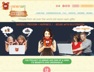 friends-gift.com screenshot