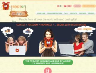 friends-gift.com screenshot