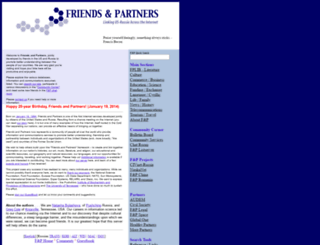friends-partners.org screenshot