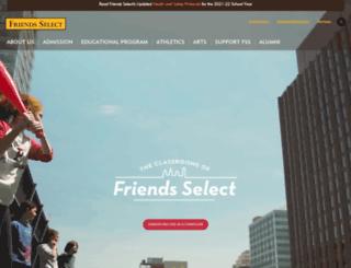 friends-select.org screenshot