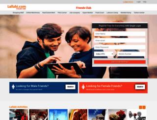 friends.lallabi.com screenshot