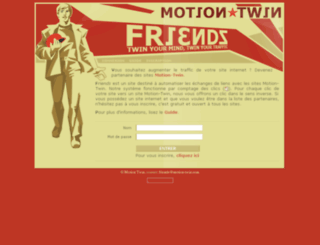 friends.motion-twin.com screenshot