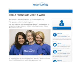 friends.wish.org screenshot