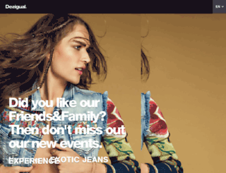 friendsandfamily.desigual.com screenshot
