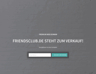 friendsclub.de screenshot