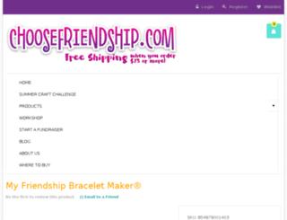 friendship-bracelet-maker.myfbm.com screenshot