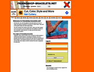 friendship-bracelets.net screenshot
