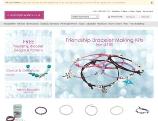 friendshipbracelets.co.uk screenshot