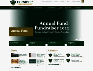 friendshipchristian.net screenshot