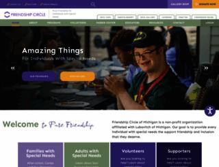 friendshipcircle.org screenshot