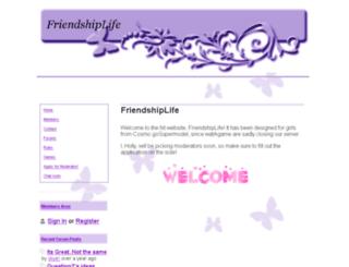 friendshiplife.webs.com screenshot