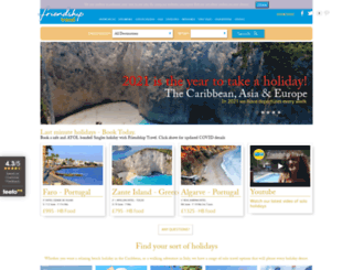 friendshiptravel.com screenshot