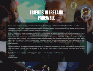 friendsinireland.ie screenshot