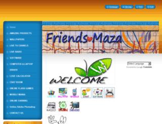 friendsmaza.webnode.com screenshot