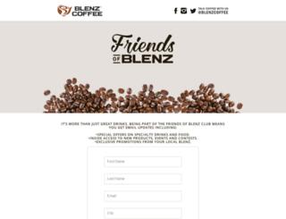 friendsofblenz.com screenshot
