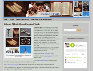 friendsoffaith.net screenshot
