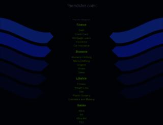 friendster.com screenshot