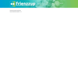 frienzzup.com screenshot