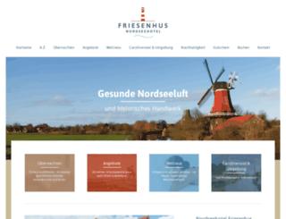 friesenhus.de screenshot