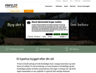 frifeldt.dk screenshot
