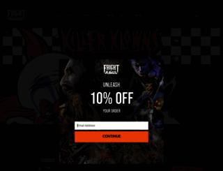 fright-rags.com screenshot