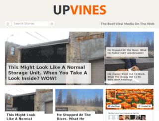 fright.upvines.net screenshot