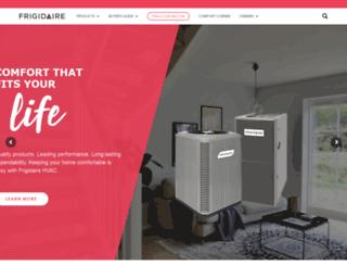 frigidaire.net screenshot