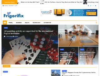 frigorifix.com screenshot