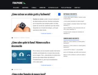 frikiphone.com screenshot