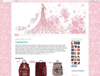 frillsandthrills.blogspot.ae screenshot