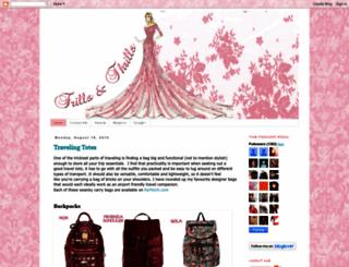 frillsandthrills.blogspot.se screenshot