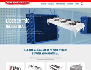 frimetal.es screenshot