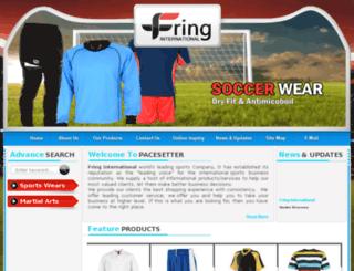 fringintl.com screenshot