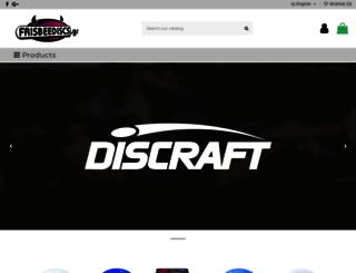 frisbeediscs.gr screenshot