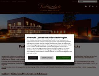 frische-pralines.de screenshot
