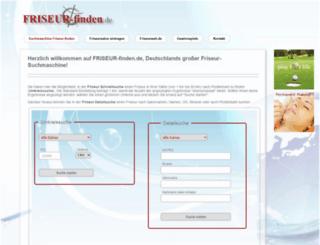 friseur-finden.de screenshot