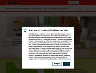 friskies.es screenshot