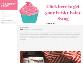 friskyfairy.com screenshot