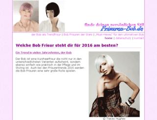 frisuren-bob.de screenshot