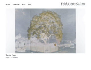 frithstreetgallery.com screenshot