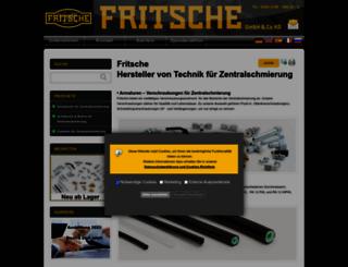 fritsche-gmbh.de screenshot