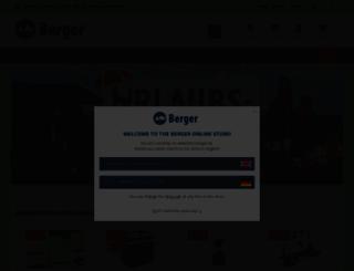 fritz-berger.de screenshot