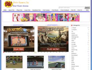 friv2012.friv-games.in screenshot