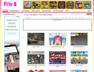 friv8.net screenshot
