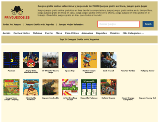 frivjuegos.es screenshot