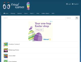 frivolgames.com screenshot
